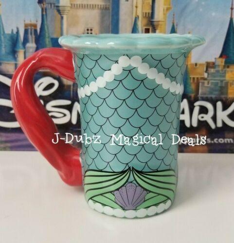 NEW Disney Parks Princess Ariel The Little Mermaid Autograph Dress Mug