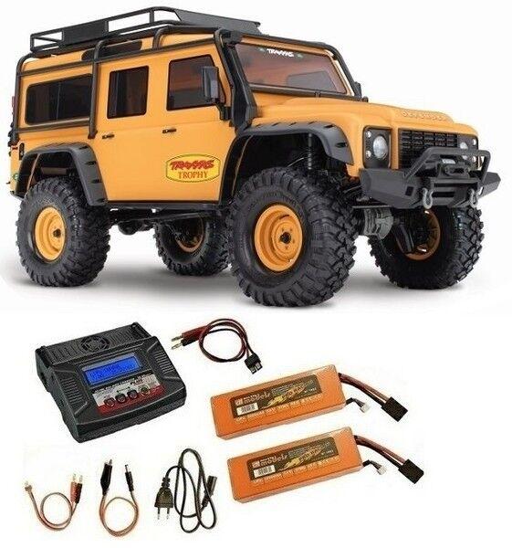 Traxxas trx-4 Land Rover sable/MAT sable/MAT sable/MAT Limousine Trophy-Edit. Crawler RTR 1:10 - économies 2 - 6a5824