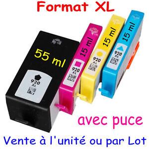Cartouches-d-039-encre-compatibles-HP-920-XL-AVEC-PUCE-OfficeJet-Pro-6500A-6500-Wifi