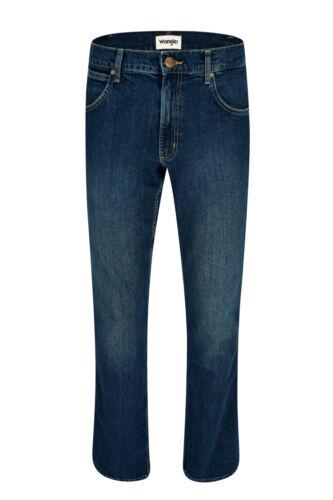 WRANGLER JACKSVILLE blue heat Five Pocket Herren Hose Used Look W15BKN34H
