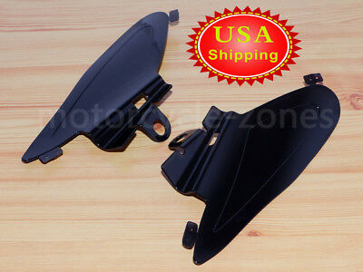 Kuryakyn 7181 Motorcycle Accessory Reflective Smoke 1 Pair Heat Deflector Saddle Shields for 2014-19 Indian Motorcycles