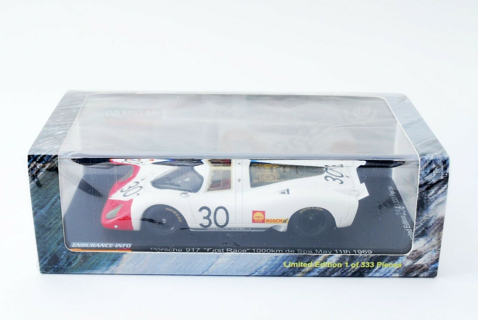 Spark Endurance Info 1 43 Porsche 917 917 917 Spa 1000km First Race 1969 En607655 Ltd 2be9ab