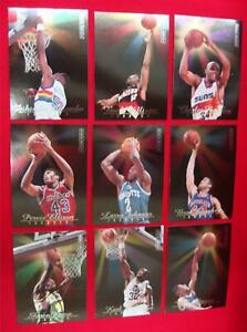 1992-93-SKYBOX-039-THUNDER-LIGHTNING-039-9-CARD-INSERT-SET-KEMP-BARKLEY-MALONE