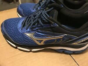 a598c3515440 Mizuno Wave Inspire 13 Size US 9 Men's Running Shoes Blue Silver | eBay