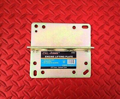 Allstar 10123 Engine Lift Plate 3//16in Thick Steel Zinc Oxide Spread//Square Bore