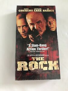 The Rock Movie Vhs Tape Sean Connery Ebay