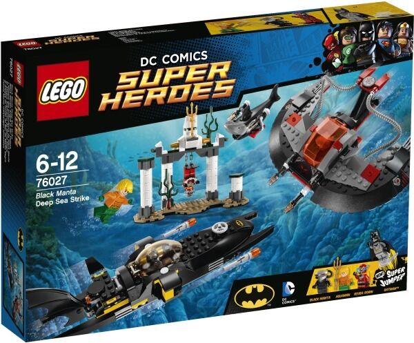 LEGO® Super Heroes DC schwarz Manta Manta Manta Deep Sea Strike Angriff in der Tiefsee 76027 982602