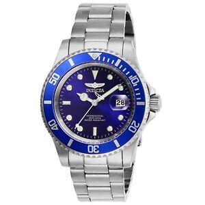 Invicta-Herren-Pro-Diver-26971-40mm-Blau-Ziffernblatt-Edelstahl-Uhr