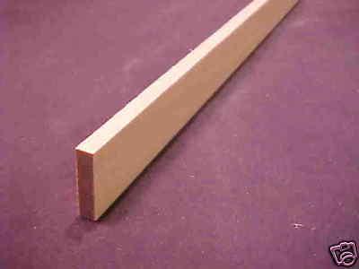 """Triangular Molding  1//8/"""" x 3//16/"""" x 23/""""  MW12011 Dollhouse miniature basswood 3pc"""