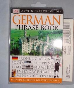 Details about Travel Guide Phrase Books Eyewitness Travel Guides - German :  Pronunciation,