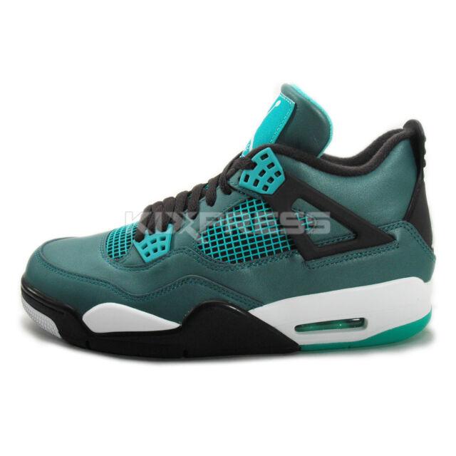 size 40 d7171 78591 Nike Men's Sz 10.5 Air Jordan 4 Retro 30th Anniversary Teal 705331 330