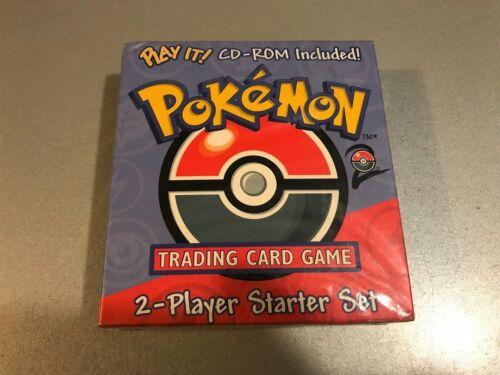 "Rare!! Pokemon Base Set 2 Starter Set de deux /""PLAY IT/"" CD-ROM Wizards of the Coast anglais"