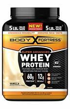 Body Fortress Super Advanced Gluten Free Whey Vanilla Protein Powder