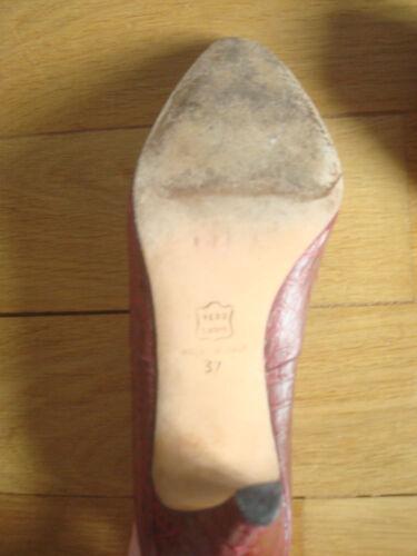 Escarpins Neufs Quasi Vintage 37 Cuir HwqrOH4