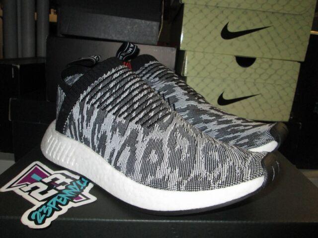 4611d2c118dfe adidas NMD Cs2 PK City Sock Core Black Grey Bz0515 Sz 8-13 Primeknit ...