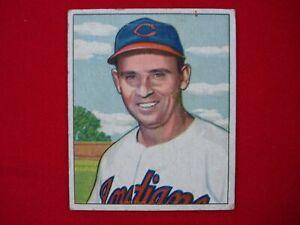 "1950 BOWMAN BASEBALL JOE ""FLASH"" GORDON #129 CLEVELAND INDIANS"