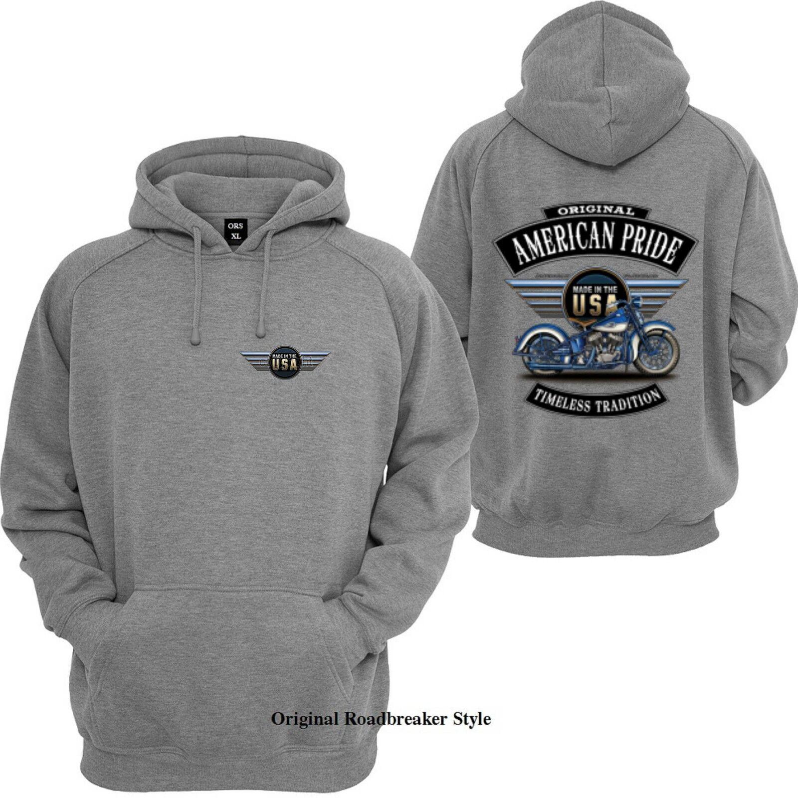 Veste sweat-shirt/Hoody & Gris HD Biker Chopper & sweat-shirt/Hoody Old schoolmotiv modèle American p. 473f58