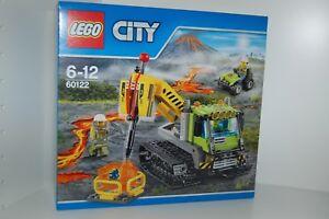 Lego City 60122 Volcan Caterpillar Nouveau! Convient à 60123,60124,60125