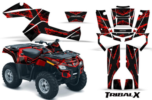 CAN-AM OUTLANDER 500 650 800R 1000 GRAPHICS KIT DECALS STICKERS TXRBR