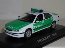 Norev peugeot 406 polizei 1:43 police MIB neuf new ref 474616