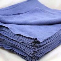 12 1 Doz Blue Glass Cleaning Shop Towel/huck Towels on sale