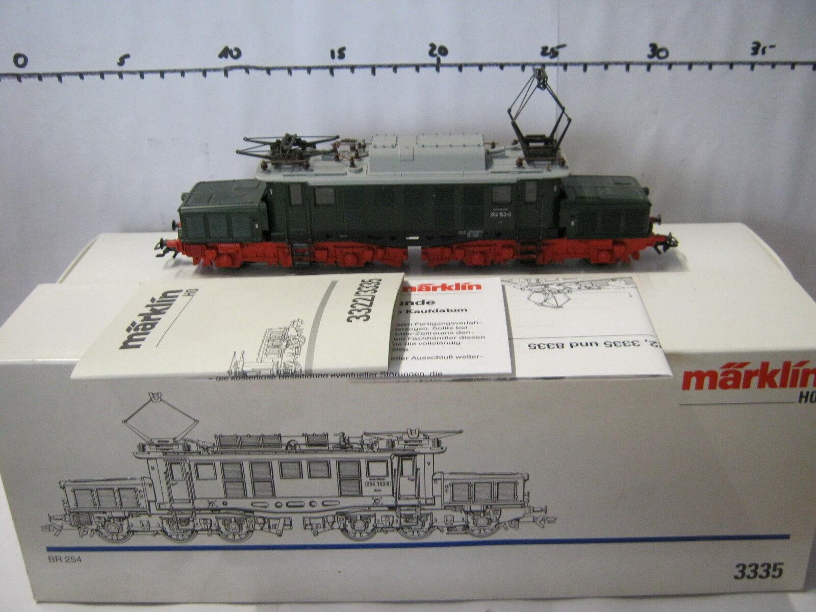 Märklin HO 3335 E - Lok BR 254 153-0 DRG (RG RO 78-118S2 4)