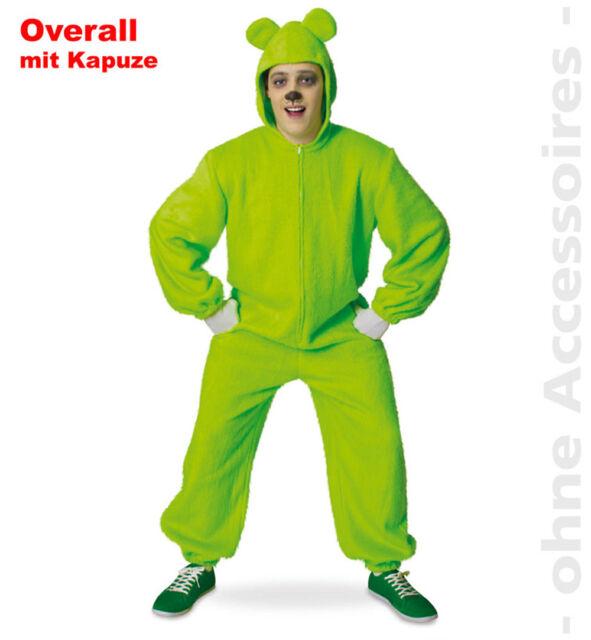 Bär Overall Bärenoverall Kapuzenoverall Gummibärchen Unisex Kostüm
