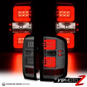 SMOKE-LED-Brake-Lamp-Tail-Light-For-14-18-Chevy-Silverado-1500-2500HD-3500HD