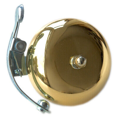 Lovely Quality Polished Brass Striker Ping Bell Bicycle Cycle Bell