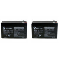 Upg 12v 9ah Sla Replacement Battery For Cyberpower Cp800avr / Bf800 Ups - 2 Pack