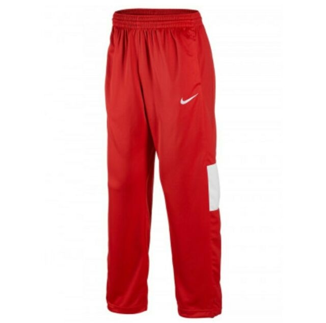 NEW Nike Dri Fit Rivalry Warm Up Pants Sz 2XL XXL Red White Athletic Wear 802334