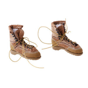 1//6 Male Soldier Lace Up Shoes Suits for 12inch Side Show DML Action Figure