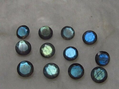 Lovely Lot Natural Labradorite 5X5 mm Round Faceted Cut Loose Gemstone C-66