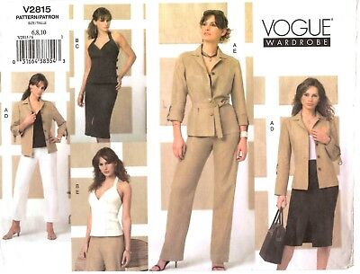 Pullover Top /& Flared Vogue Career Wear Vogue Separates Pattern 2035 by TOMOTSU Sz 141618 Pleated Skirt Misses/' V-Neck Shirt