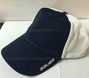 72b18e5dffc Bauer New Era Fitted Team Stretch Hat! Fit SR Hockey Cap S M L XL ...