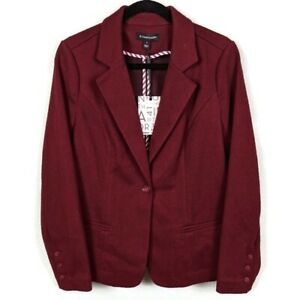 New-Stitch-Fix-41-Hawthorn-Burgundy-Blazer-Size-Medium-New-with-Tags