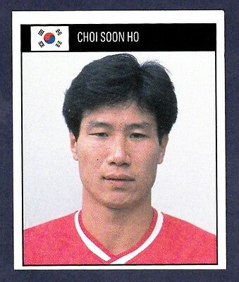 ORBIS 1990 WORLD CUP COLLECTION-#347-SOUTH KOREA-CHOI SOON HO