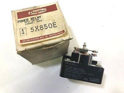 Dayton 5X850E SPDT 120V Coil Relay New