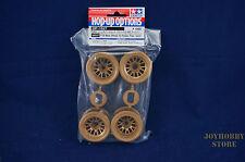 Tamiya 54527 RC F104 Mesh Wheel Set - Gold