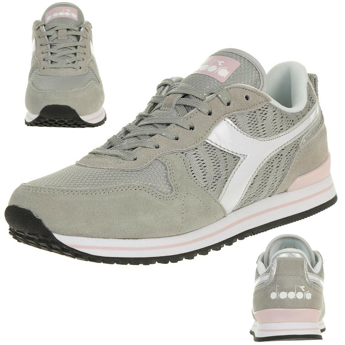 Diadora Olympia Wn Plat Women's Sneakers Trainers Grey