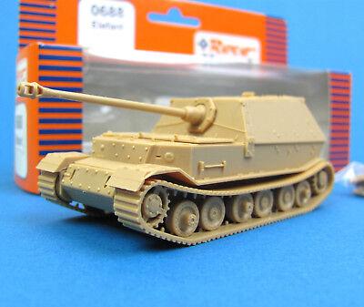Roco Minitanks H0 688 PANZER-JÄGER ELEFANT EDW WWII Wehrmacht OVP HO 1:87 Premo