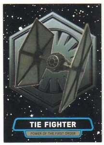 2015 Star Wars Viaje A La Fuerza despierta Power primer orden 7 Tie Fighter