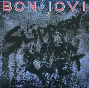 BON-JOVI-SLIPPERY-WHEN-WET-NEW-amp-SEALED-180G-BLACK-VINYL-LP-REISSUE