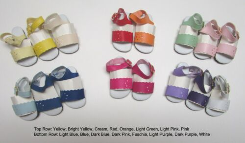 47mm ORANGE Sandals for Kish Bitty Bethany READ DESC. Doll Shoes