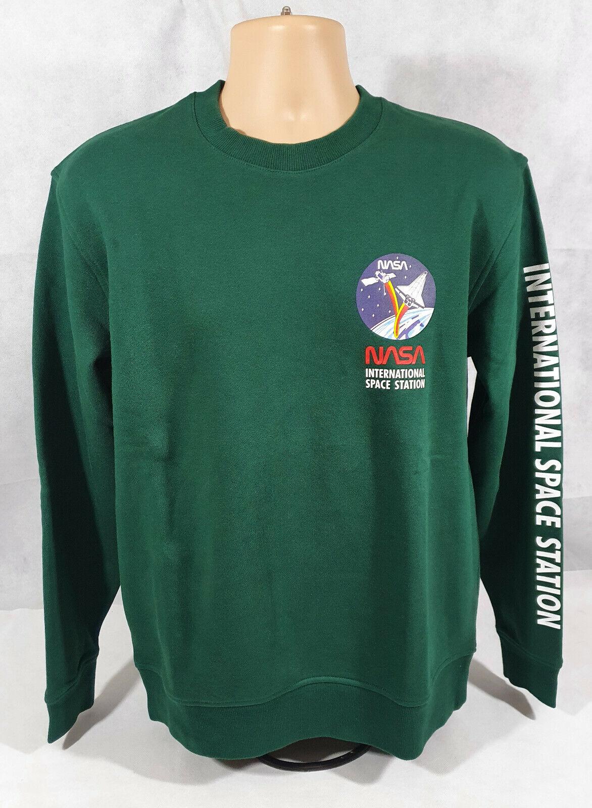 NASA International Space Station, Green, Sweatshirt/Jumper, BNWT, NEW