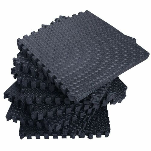 New 56 Tiles 216 Sq Ft Interlocking EVA Foam Floor Mat Flooring Gym Playground U