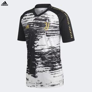 Dettagli su Juventus Maglia Pre-partita Allenamento Stagione 2020/21 adidas Uomo