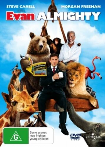 1 of 1 - Evan Almighty (DVD, 2008) Steve Carell.
