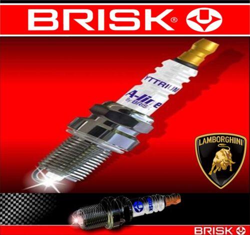 Per MERCEDES C200 Kompressor 1.8 2002-2006 BRISK Yytrium Spark Plug Plugs x4