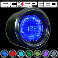 Sickspeed High Performance 52mm Water Temperature Gauge P4 Multicolor 7 Color on sale